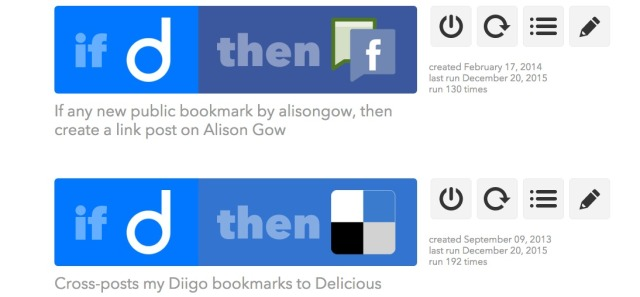 IF Recipes IFTTT